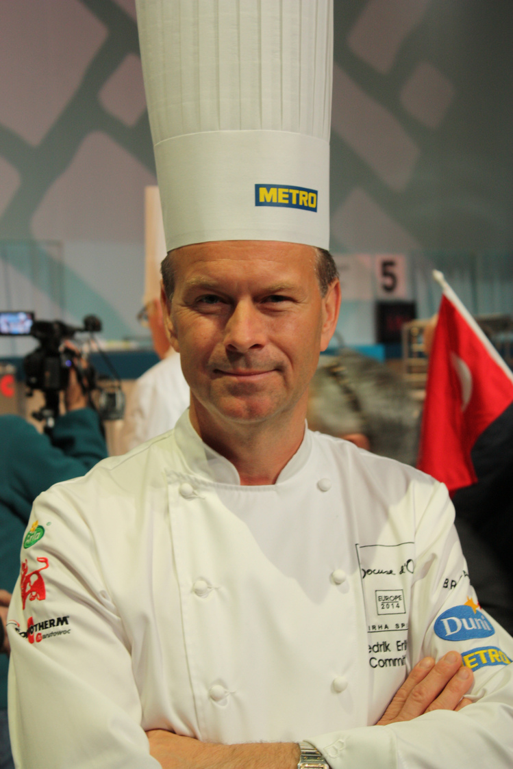Chef Fredrilk Eriksson