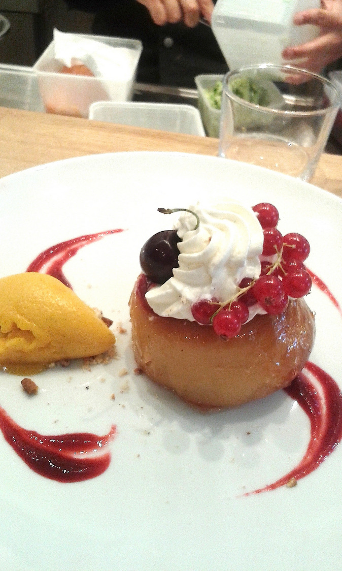 Baba au rhum, chantilly