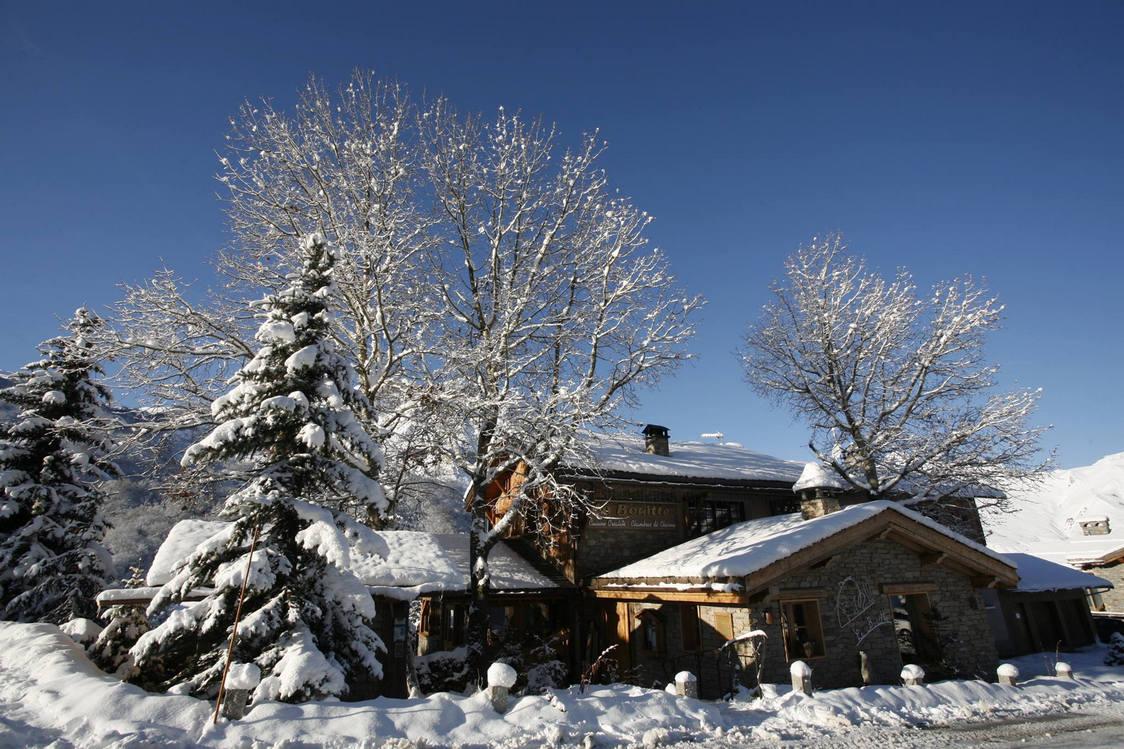 La Bouitte, l'hiver