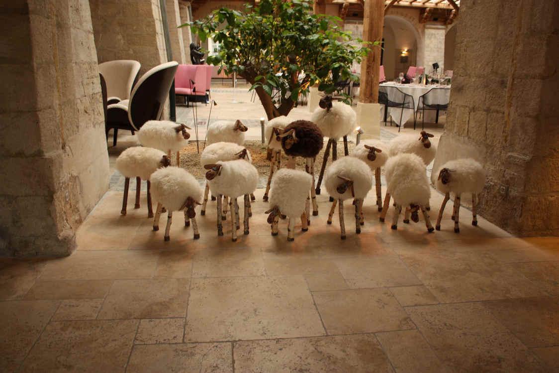 les moutons du lobby © P.Faus