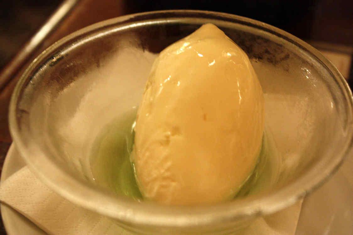 Glace au lait, Chartreuse © P.Faus