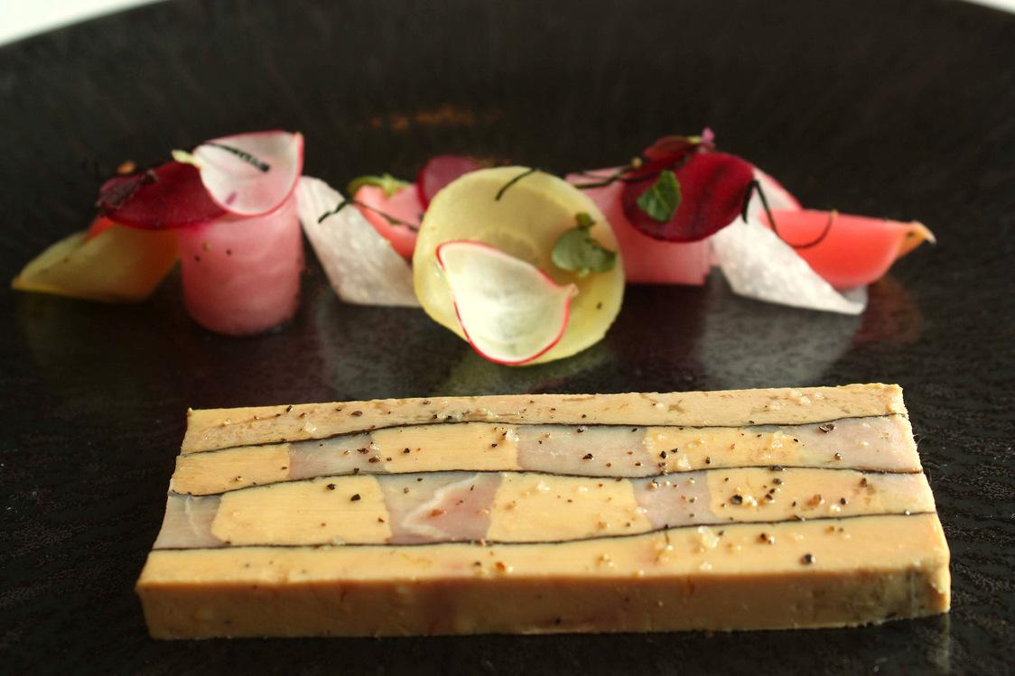 Pressé de pintade_foie gras © P.Faus