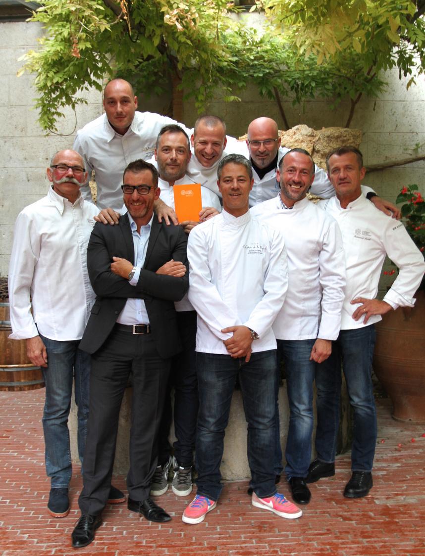 Chefs CHC Restos du Coeur Opio 031215