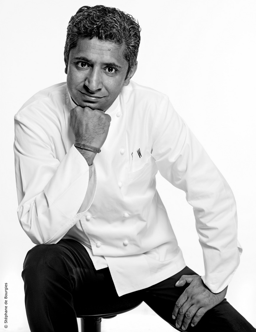 Le chef Sylvestre Wahid