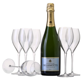 Champagne delamotte la preuve par 7 gourmets co for Champagne delamotte