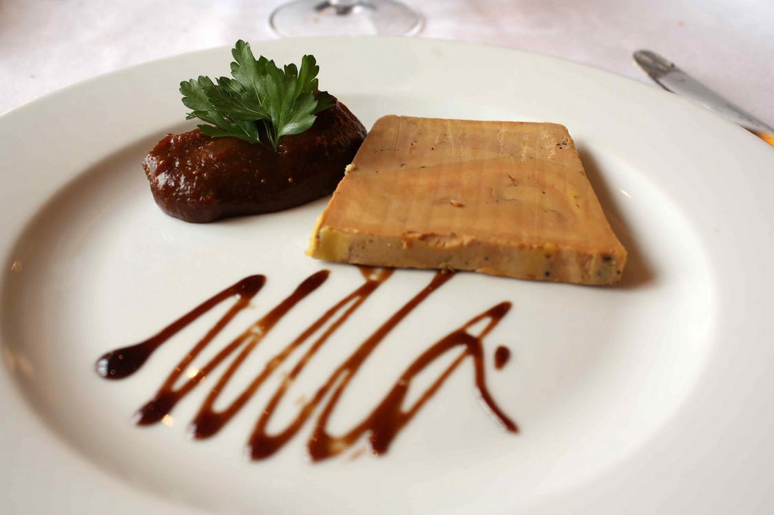Foie gras au naturel  © P.Faus