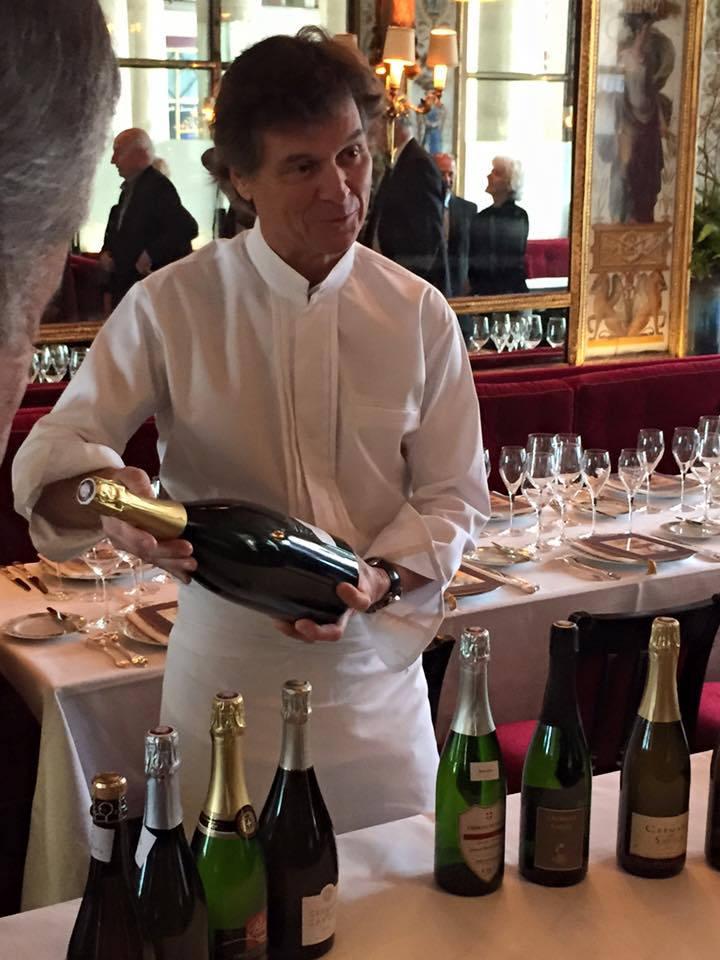 Guy Martin, un bon ambassadeur des crémants de Savoie