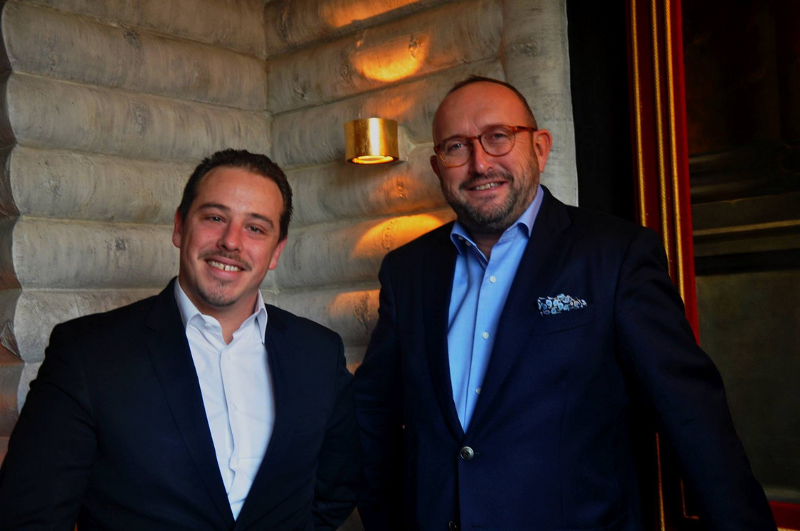 Mathieu Bucher, propriétaire, et Edouard Absire, directeur