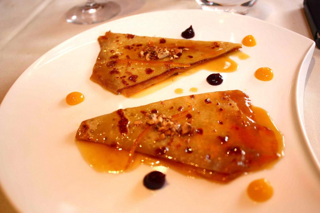 Crêpes flambées à l'Armagnac, oranges… © P.Faus  - copie
