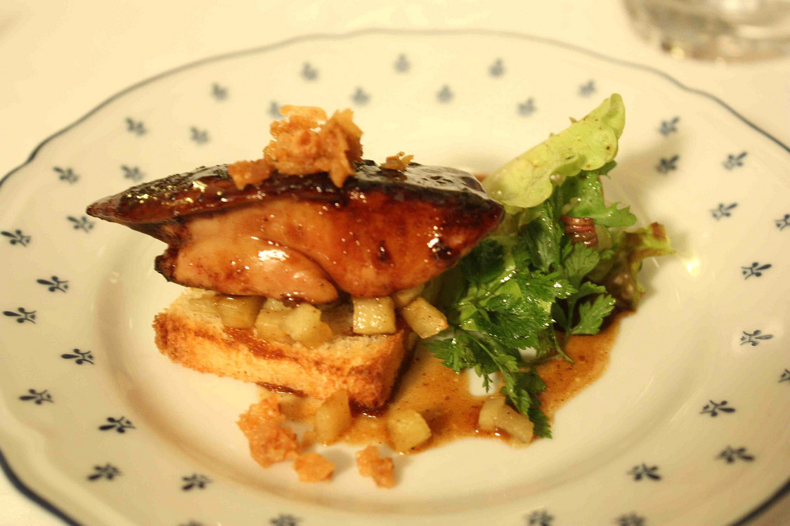Foie gras poêlé  © P.Faus