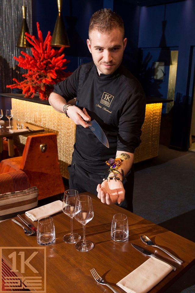 Le chef Julien Bourbaud jpg