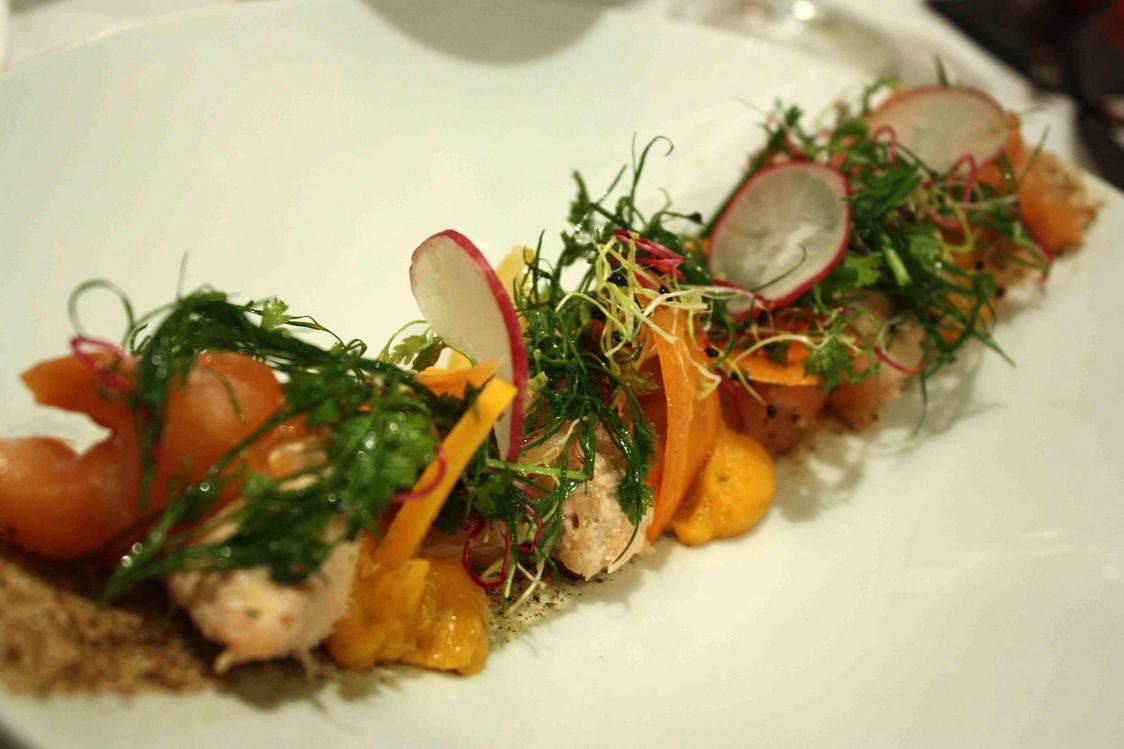 Saumon cuit et cru… © P.Faus  - copie