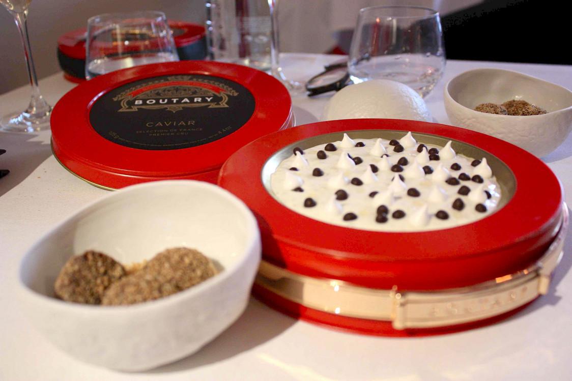 Chocolat, coco, perles du Japon, meringue… © P.Faus