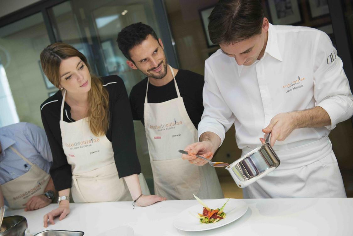 Rencontre cours de cuisine