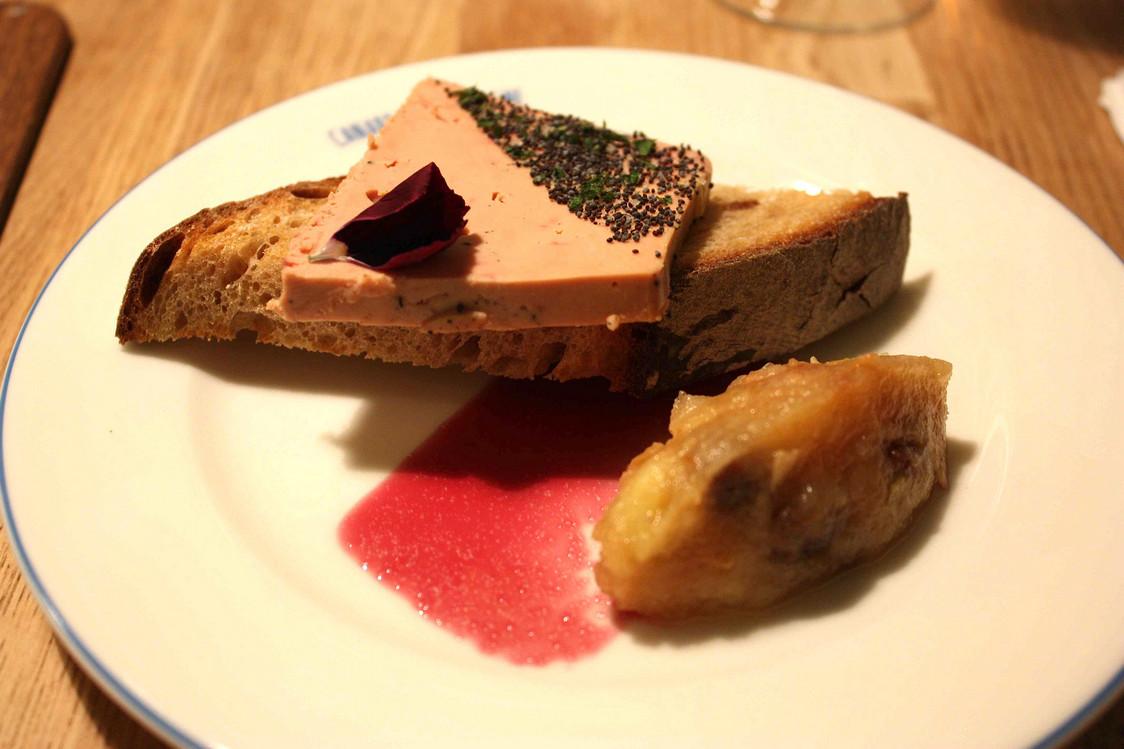 Foie gras, chutney © P.Faus  - copie