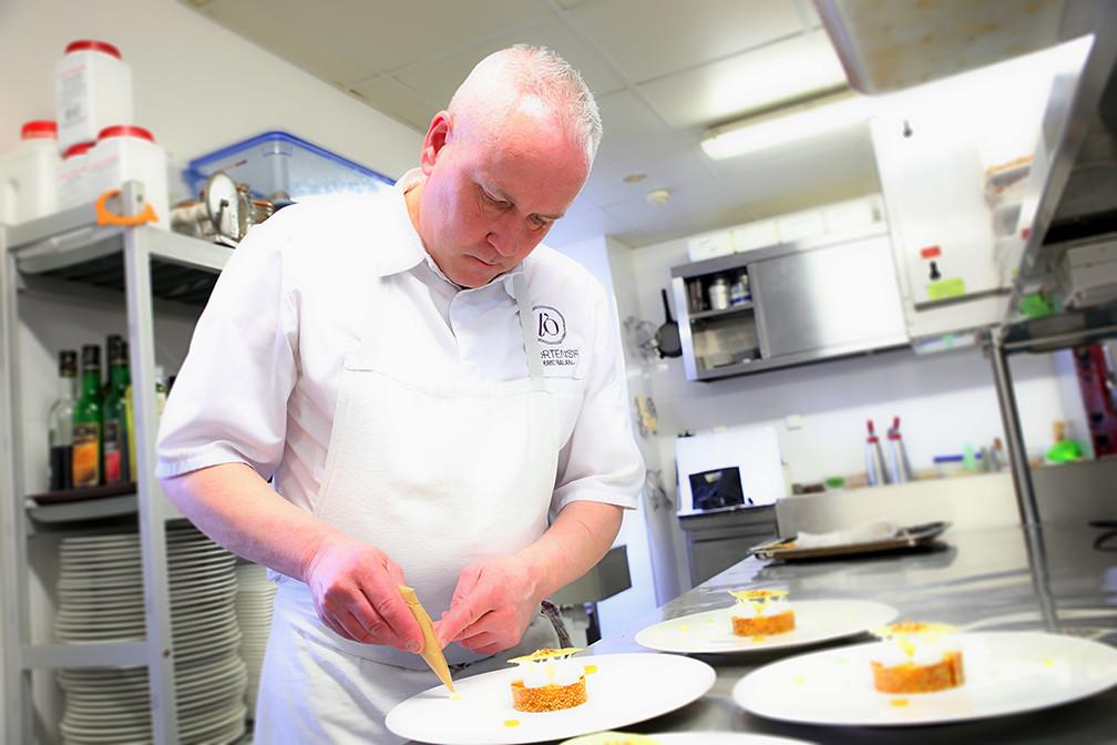 Le chef, Eric Balan