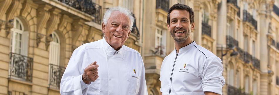 Michel Rostang et Nicolas Baumann