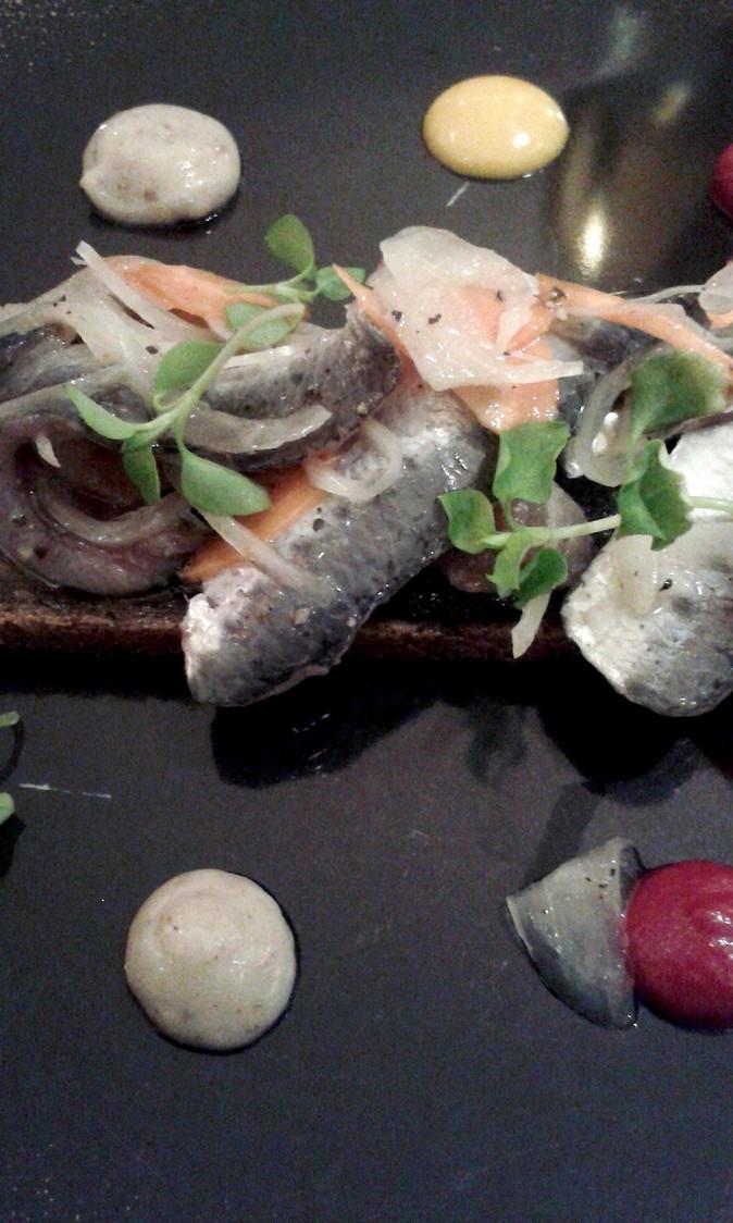 Sardines crues marinées…© P.Faus