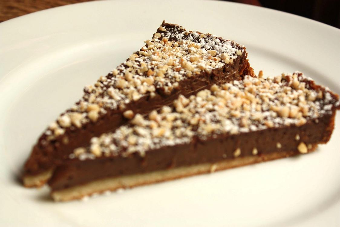 Tarte au chocolat © P.Faus