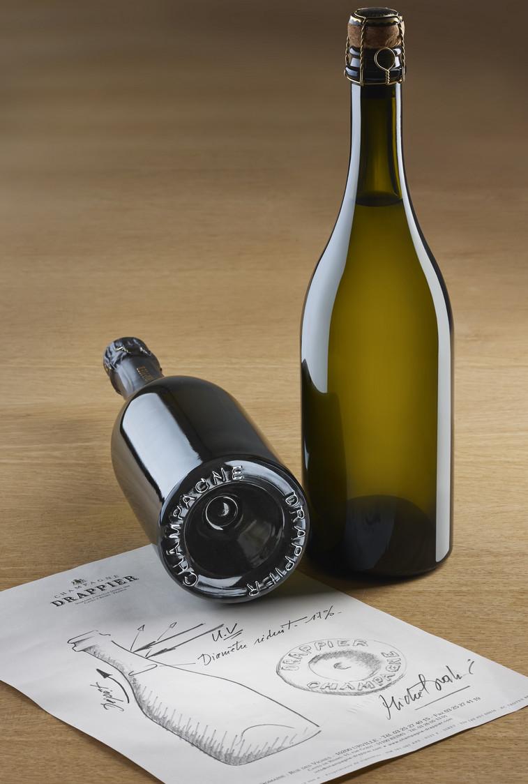 Visuel nouvelle bouteille Drappier