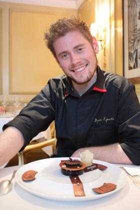 Bryan Esposito, chef pâtissier © P.Faus