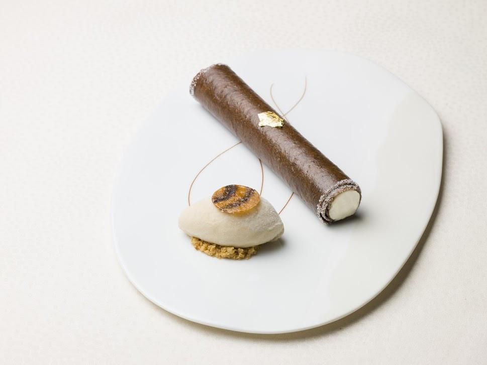 Cigare Havane mousseline Cognac glace Marsala - MaisonRostang-hd2