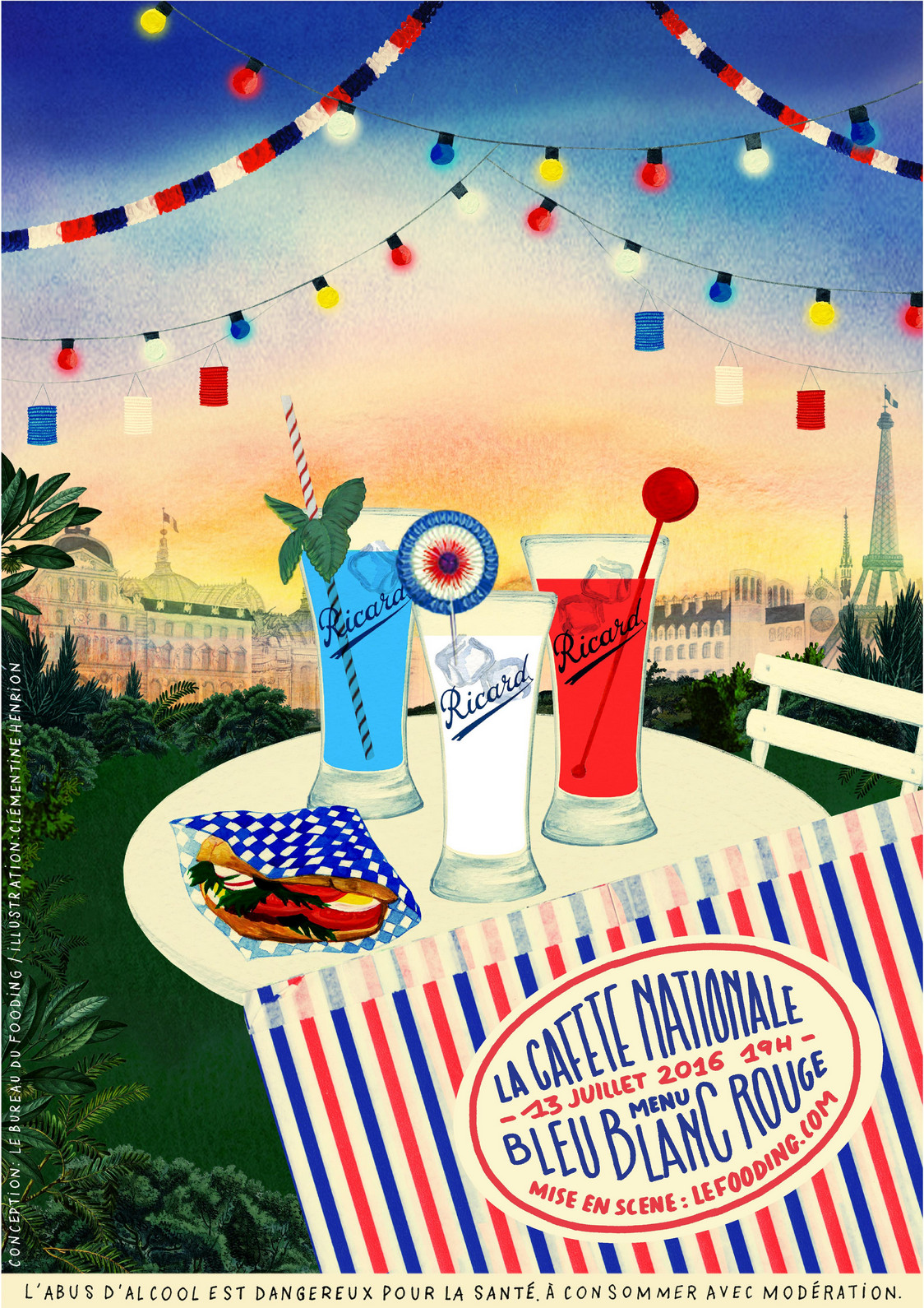 La Cafète Nationale - Affiche