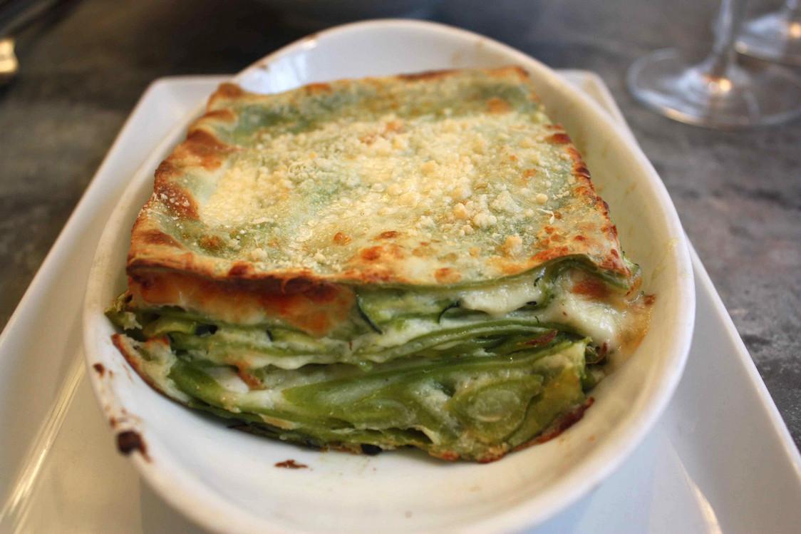 Lasagnes verde végé © P.Faus