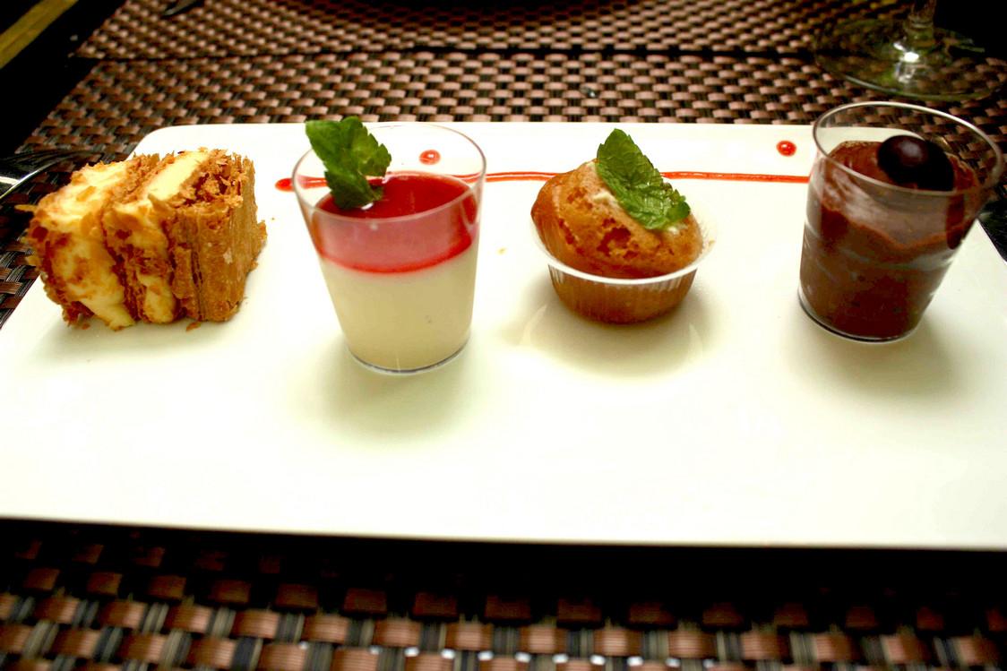 Sélection de desserts © P.Faus  - copie