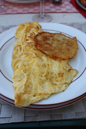 Belle omelette nature © P.Faus