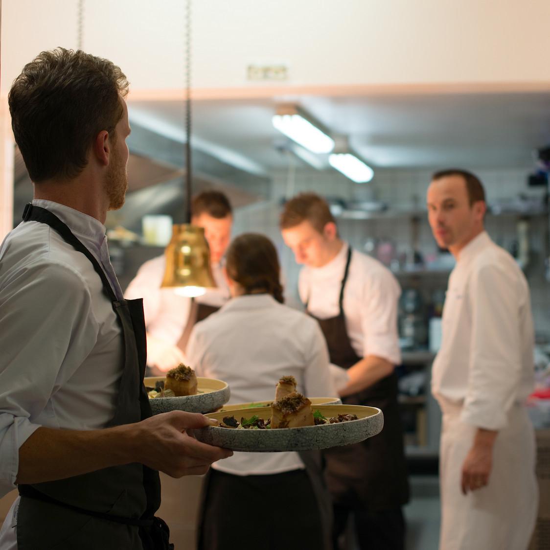 L'équipe en cuisine