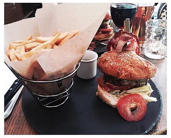 Sérieux Hamburger