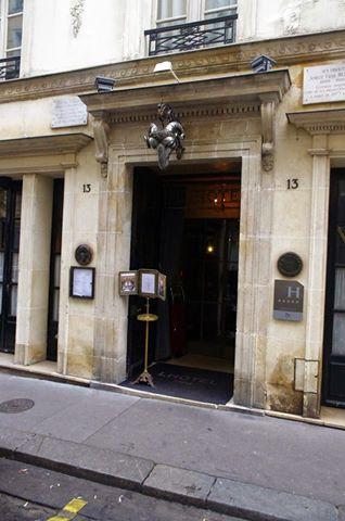 Le restaurant de l h tel gourmets co - Rue des beaux arts ...
