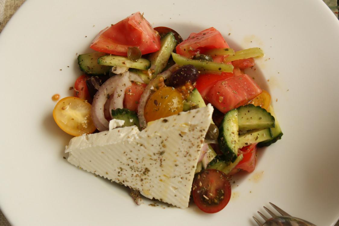 Salade feta © P.Faus