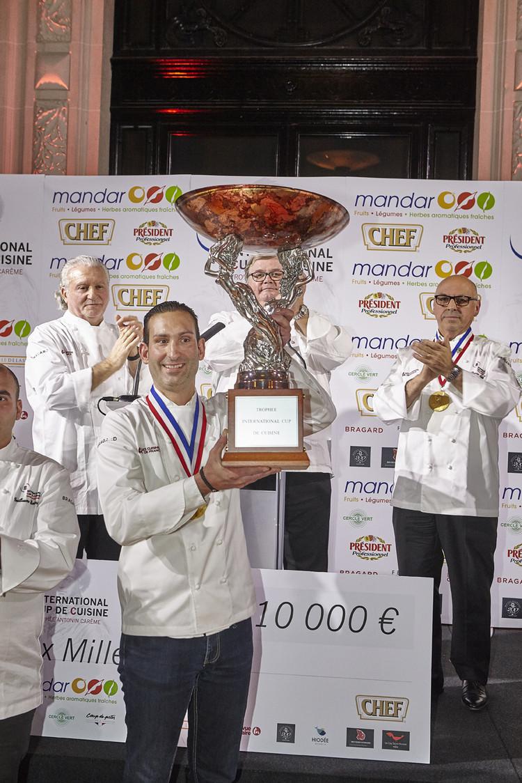 International cup de cuisine gourmets co - La cuisine de bertrand ...