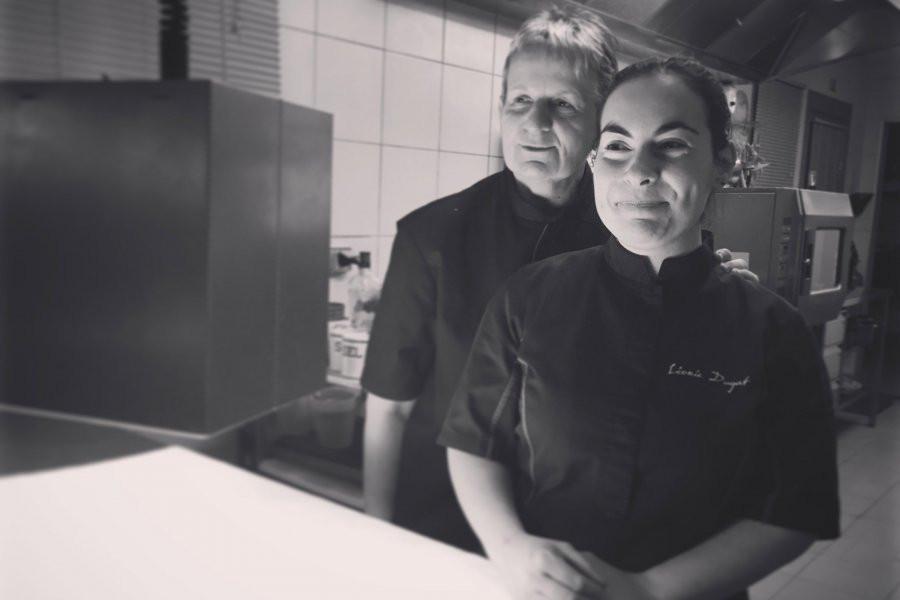 Edwige Tiret et Léonie Dugat