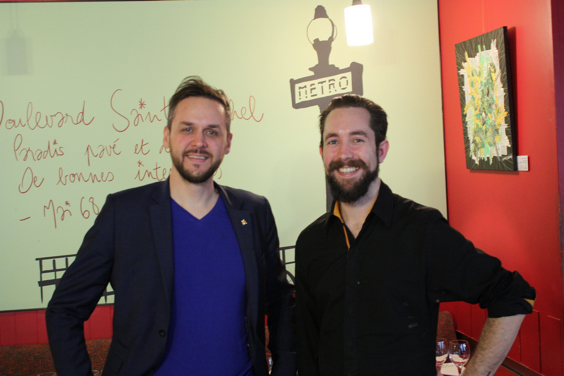 Jean-François Paris (à g.) & Jonathan Michel