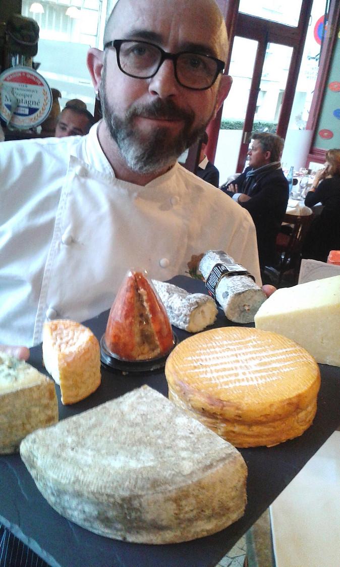 Le chef et ses fromages ! © Gourmets&Co
