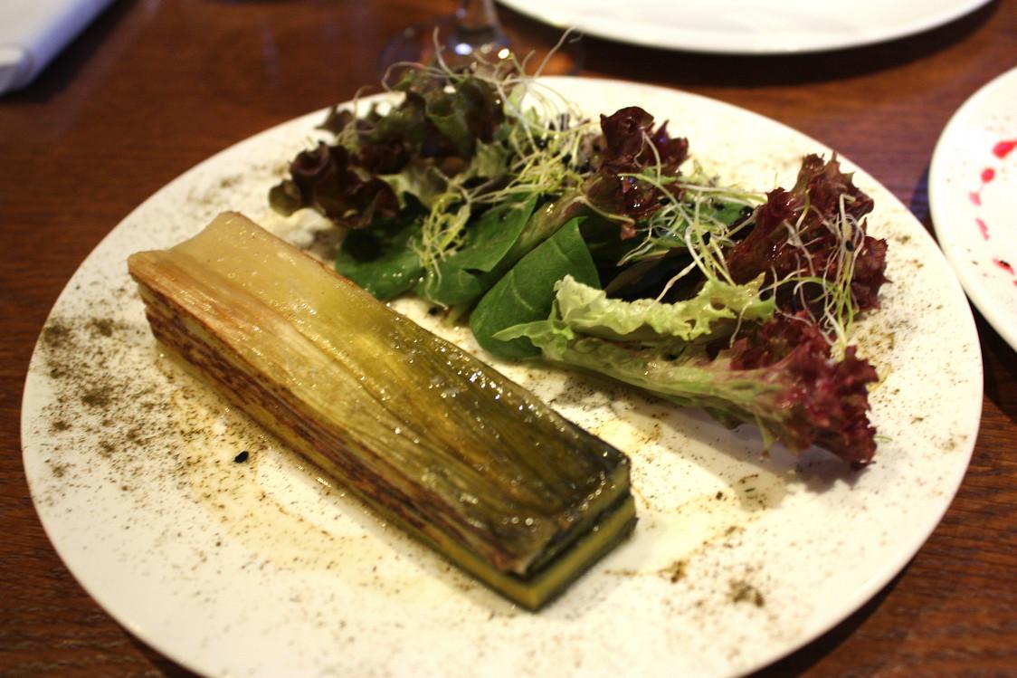 Millefeuille de poireaux © Gourmets&Co