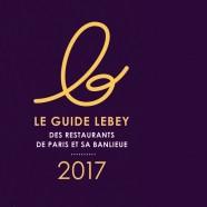 Guide Lebey Restaurants 2017