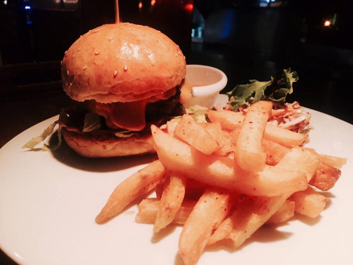 Burger…