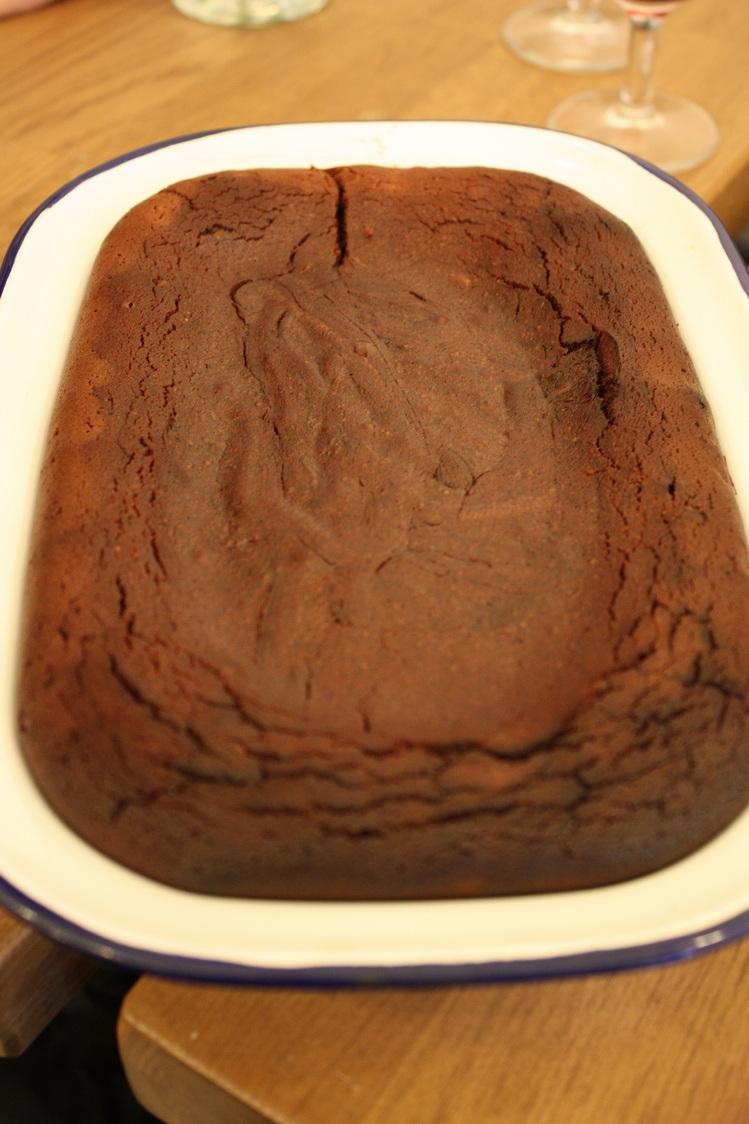 Câteau moelleux au chocolat © P.Faus Gourmets&Co
