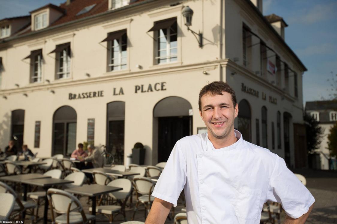 Cédric Delvart le chef et propriétaire