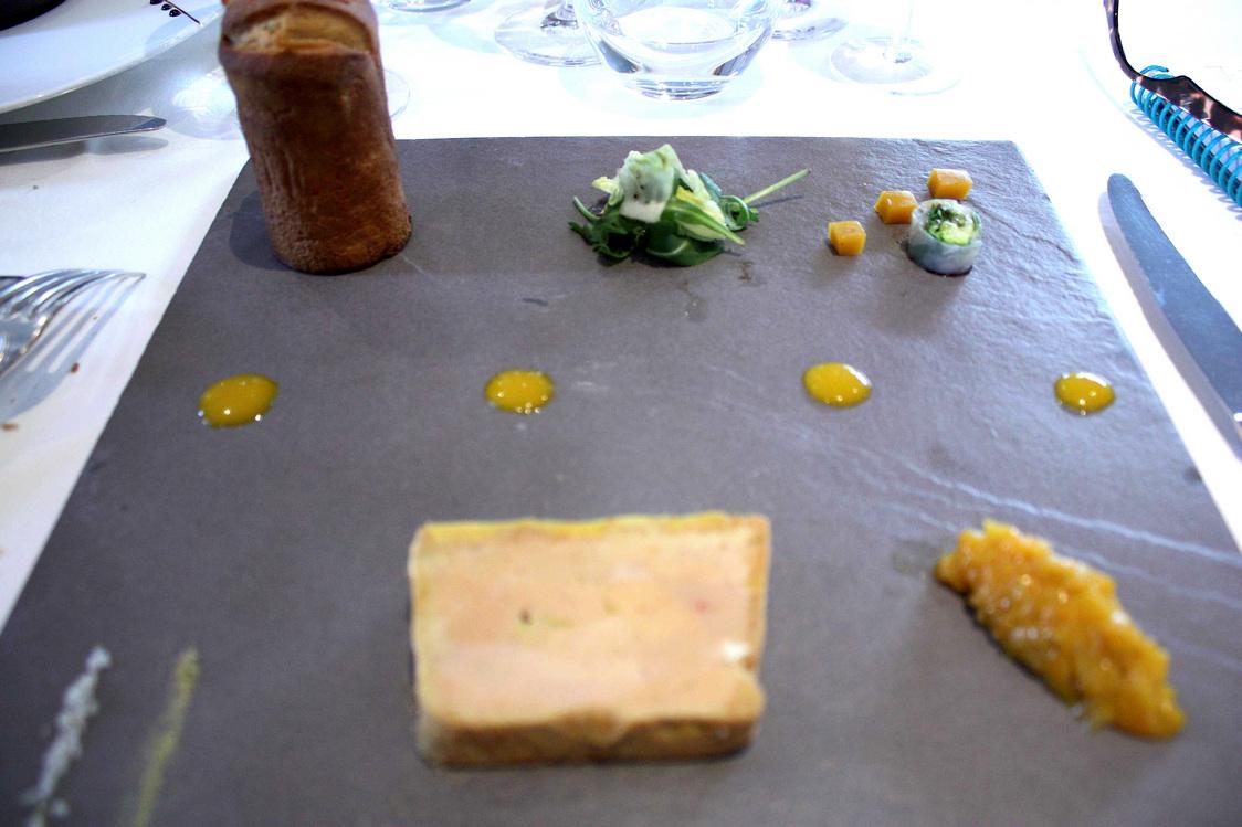 Foie gras, chapelure de pains d'épices © P.Faus Gourmets&Co - copie