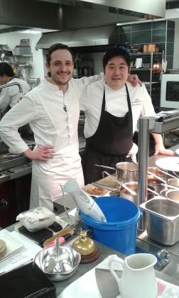 Pierre Meneau & Takashi Kinoshita © Gourmets&Co