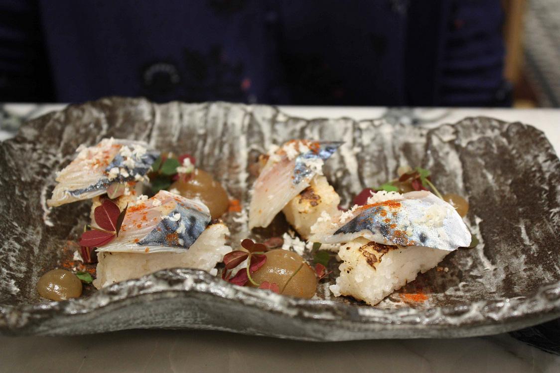 Riz koshihikari, maquereau © Gourmets&Co