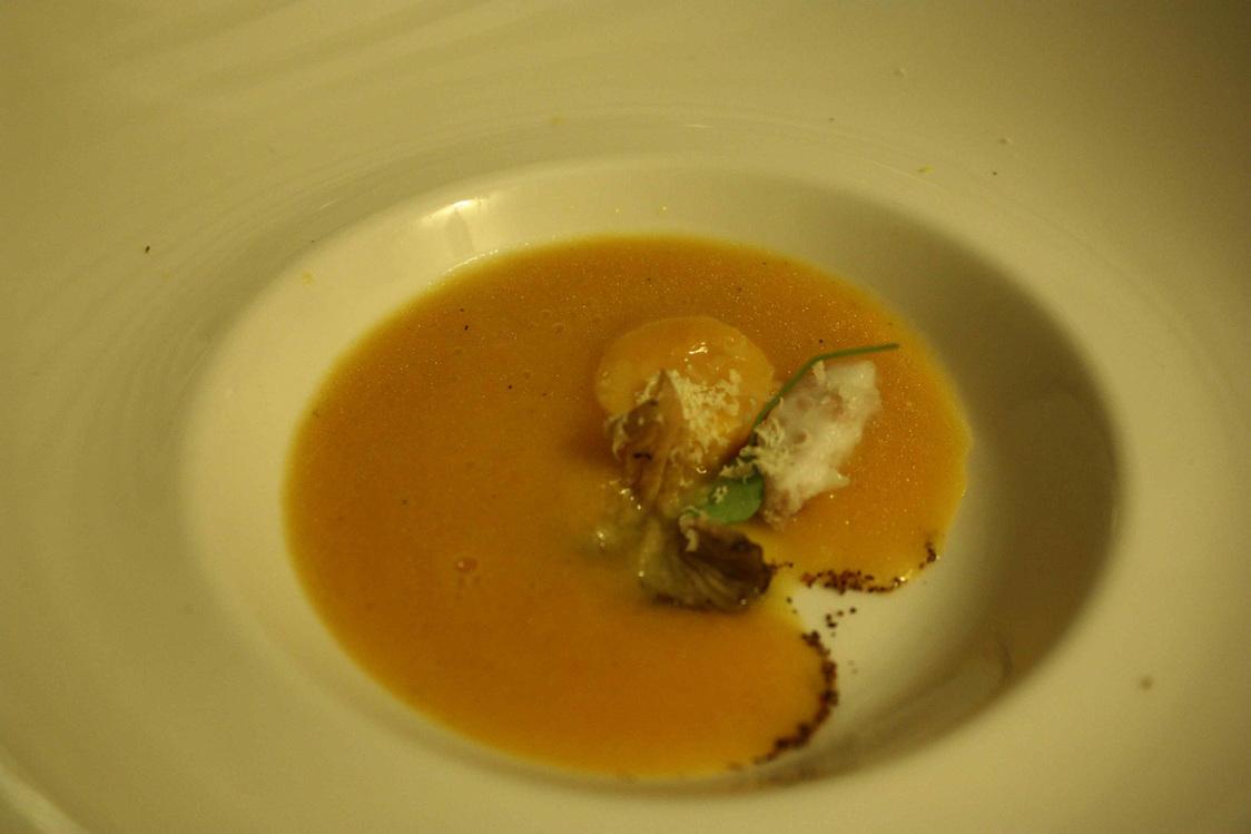Velouté de potiron © Gourmets&Co