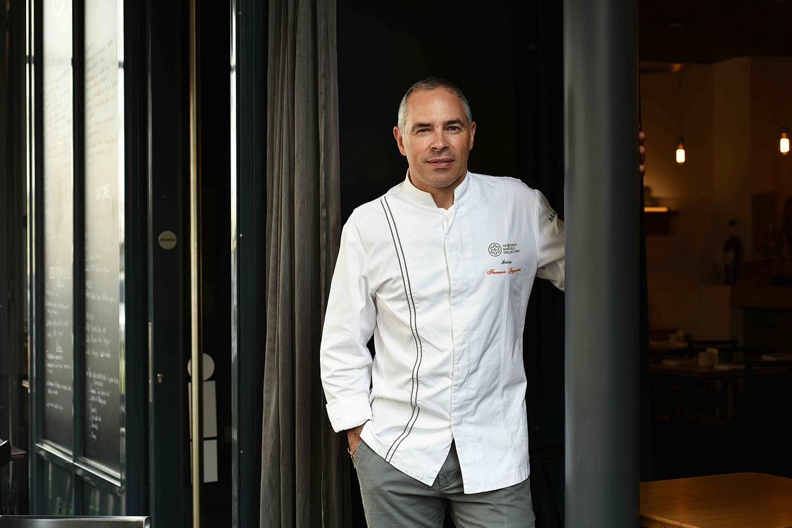 Chef François Gagnaire (paysage) © Géraldine Martens - copie