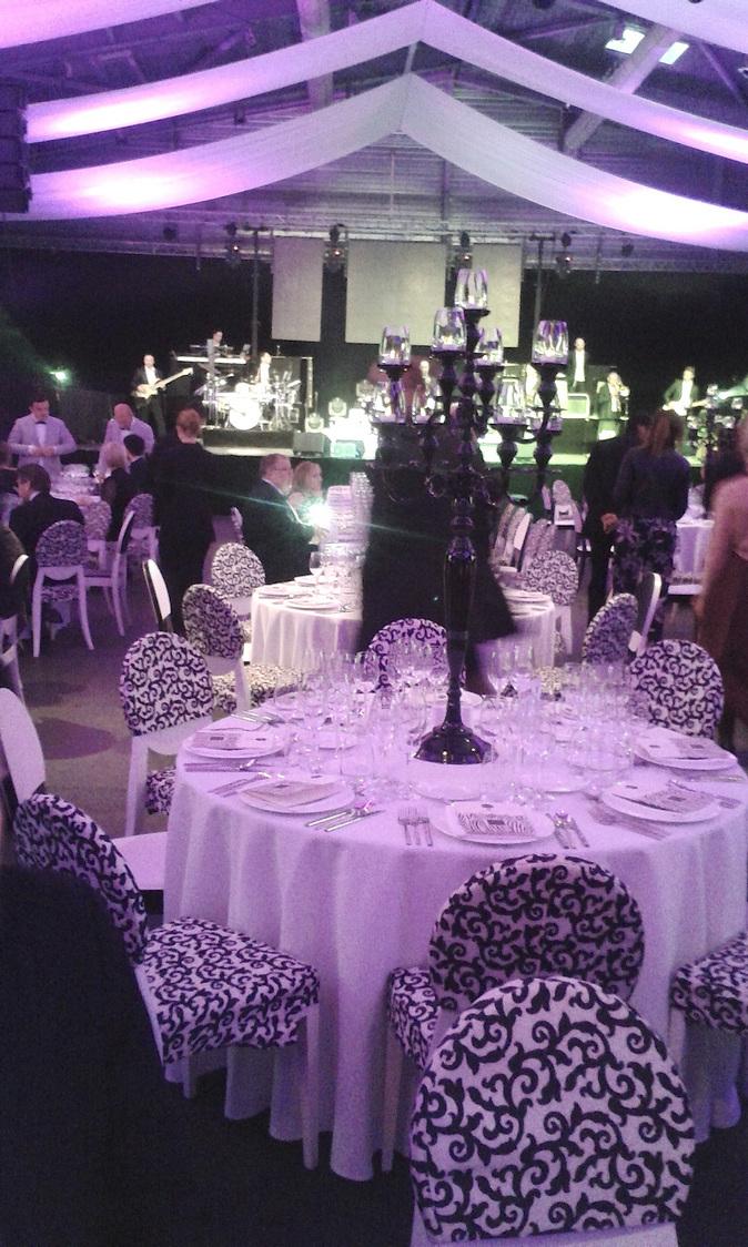 Le dîner de gala © Gourmets&Co