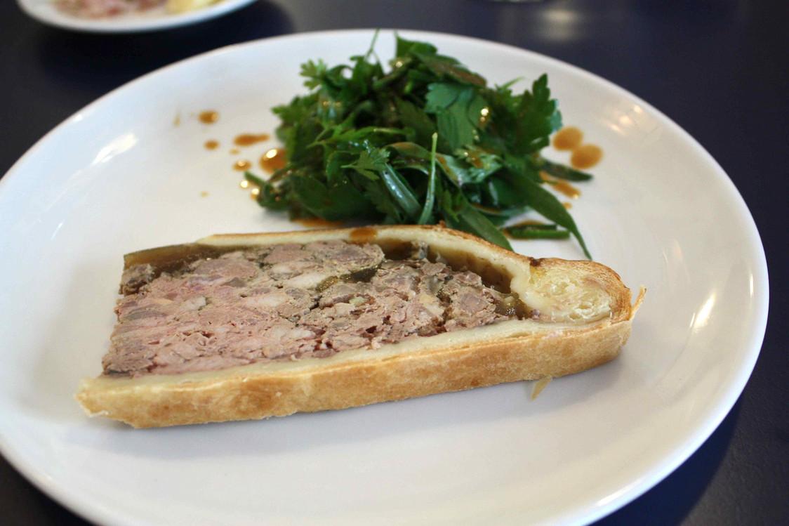 Pâté en croûte au foie gras © P.Faus